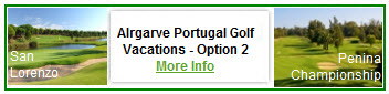 Algarve Portugal Golf Vacations 