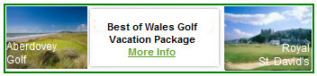 Best of Wales Golf Package
