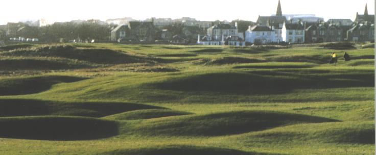 scotland golf vacations leven links golf course