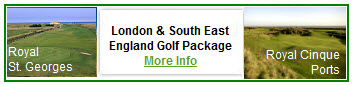 London South East Golf Package