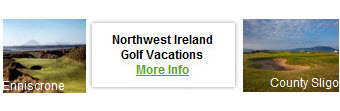 Northwest Ireland Golf Vacations 