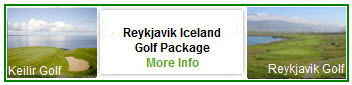 Reykjavic Iceland Golf Vacation Package