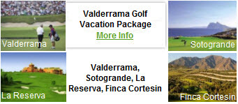 Valderrama Golf Vacations Spain Golf Packages