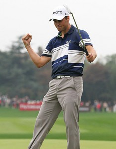 Martin Kaymer HSBC Champions 2011