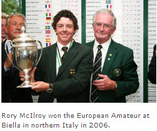 McIlroy wins European Amateur in 2006